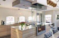 Love this bespoke kitchen, designed by Derk Thomassen