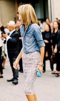 Look: Renda & Jeans