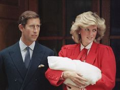 The spare arrives: Prince Charles and Princess Diana