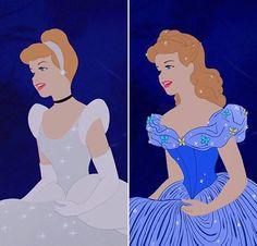 ~Hey Gorgeous~ Cinderella in her live-action dress :) Walt Disney, Disney Pixar, Cinderella Disney, Disney Nerd, Disney Memes, Disney Marvel, Disney Fan Art, Cute Disney, Disney Girls