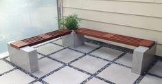 Concrete bench and planter by Thomas Roa | CHENG Concrete Exchange