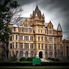 The abandoned Tennessee State Penitentiary in Nashville.
