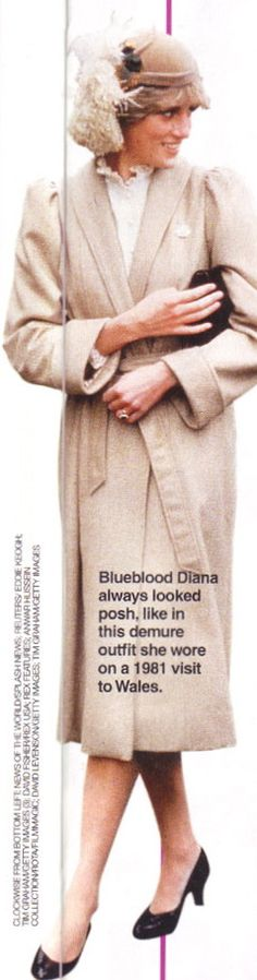 Princess Diana...ummm scared to ask what's in the hat...looks alive