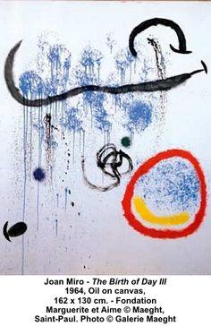 """Joan Miro """"The Birth of Day III"""""""