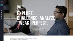 Nina Hale - Digital Marketing Agency Website Inspiration Web Layout, Layout Design, Web Design Services, Human Behavior, Brand Board, Web Design Inspiration, Digital Marketing, Logo Design, Social Media