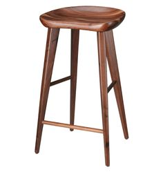 Walnut Bar Stool | Rejuvenation