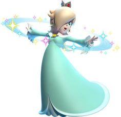Rosalina from Super Mario 3D land