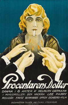 Fula Fiskar Die Tochter des Wucherers, 1922 Germany