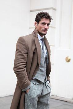 Vests Men's Clothing Honey Vintage Brown Tweed Waistcoat Wool Herringbone British Style Slim Fit Vest Custom Made Bespoke Vest Ab03