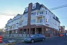 New condos on the corner of Mill Street, across the from King George II Inn and the Wharf.