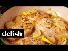 Best Creamy Lemon Chicken Recipe-How To Make Creamy Lemon Chicken—Delish.com