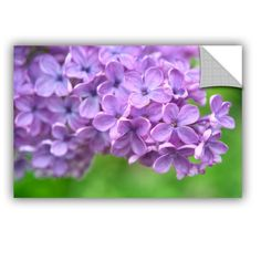 Cora Niele Lilac II Removable Wall Decal