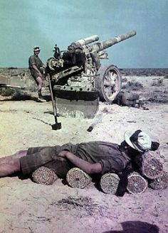 DAK artillery - North Africa