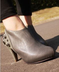 PU Leather Ankle Boots