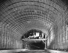 Building the Squirrel Hill Tunnel 1953