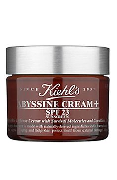 Makes my skin looks soft & smooth. Kiehl's Abyssine Cream SPF 23 available at Nordstrom