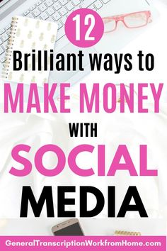12 Easy Ways to Make Money with Social Media Marketing. Learn How to Make Money Online with Social Media and how to promote product and services on social media for beginners and experts. #SocialMediaMarketing #socialmedia #marketing  #makemoney #pinterest #facebook #instagram #youtube #twitter Make Money Blogging, Way To Make Money, Make Money Online, How To Get, Youtube Hacks, You Youtube, Facebook Marketing Strategy, Social Media Marketing, Business Money
