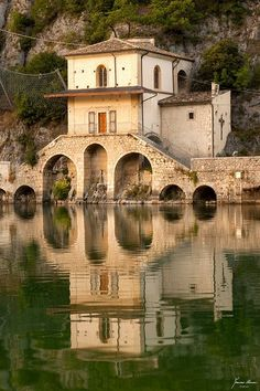 Chiesa della Madonna del Lago. Scanno, Abruzzo, Italy