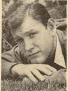 Portrait: Casual, resting in grass, early Earl Holliman, Navy Veteran, Grass, 1960s, Singer, Actors, Portrait, Casual, Animals