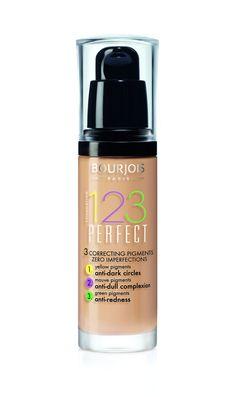 Bourjois Fond De Teint Perfect Foundation - 56 Beige Rose, 30 ml Foundation For Mature Skin, Perfect Foundation, No Foundation Makeup, Liquid Foundation, Drugstore Foundation, Rimmel, Maybelline, Beige Rose, Bourjois Foundation