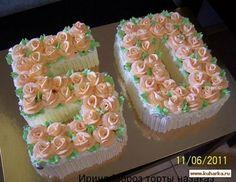 Резултат слика за Daniela Bolos Number Birthday Cakes, Birthday Sheet Cakes, Birthday Cakes For Women, Number Cakes, Pretty Cakes, Beautiful Cakes, Amazing Cakes, Unique Cakes, Creative Cakes