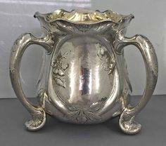 Gorham Martele sterling silver loving cup, c1905