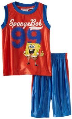 Spongebob Squarepants Boys 2-7 Spongebob Sleeveless « Clothing Impulse