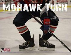 How to do the Mohawk Turn Hockey Workouts, Hockey Drills, Hockey Players, Youth Hockey, Hockey Mom, Hockey Stuff, Hockey Puck, Hockey Training, Sports Training