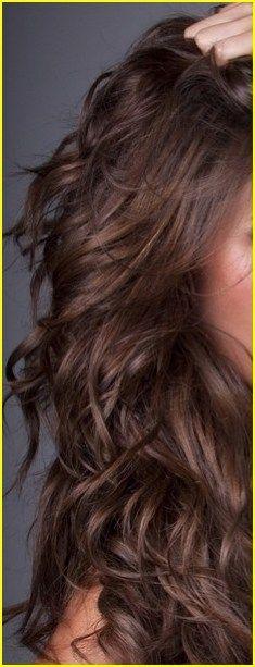 Brunette hair color 00023