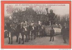 AIX EN PROVENCE --> 1924 ~ XXXI° Carnaval. Corso Carnavalesque. Grand Char. La Mère Fouettard - Aix En Provence