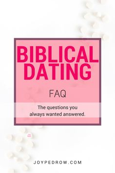 christian living single and dating questions