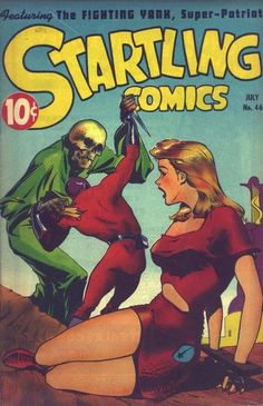 Cover for Startling Comics (Pines, 1940 series) #46