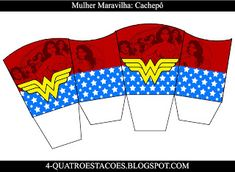 Kit festa infantil mulher maravilha, completo gratuito Playing Cards, Wonder Woman, Women, Teachers' Day, Party Kit, Kids Part, Four Seasons, 4 Years, Playing Card Games