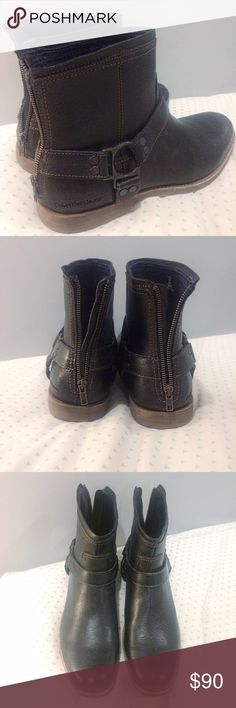 NWOT Calvin Klein Jeans PALMER BOOT NWOT bought for my hubby online, he tried them on and they didn't fit. His loss (and my fashion sense loss) is your man's gain :) Size US 13. Black. Calvin Klein Jeans Shoes Boots