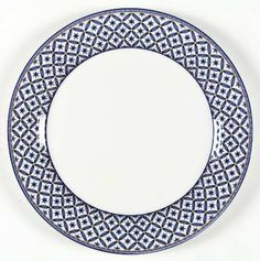 "Victoria & Beale ""Williamsburg""  dinner plate from Replacements.com"