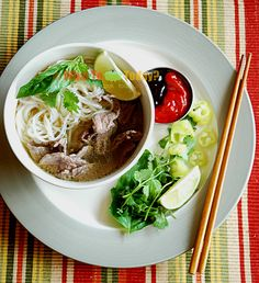 VIETNAMESE PHO BO NOODLES. Beef noodle soup. Love this ! Order this everytime we go to Vietnamese restaurant. Now you can make your own