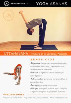 UTTANASANA · Beneficios de la práctica de Yoga ! Postura de la cigüeña variante por Diego Cano