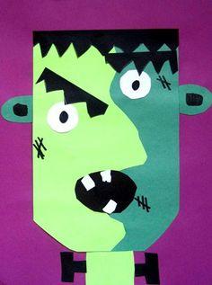 Artsonia Art Museum Picasso Frankensteins