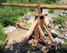 Apocalypse Survival, Crane, Medieval, Camping, Wood, Earth, Campsite, Woodwind Instrument, Timber Wood