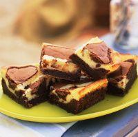 Moist, Gooey Cream Cheese Brownies Recipe: Cream cheese brownies.
