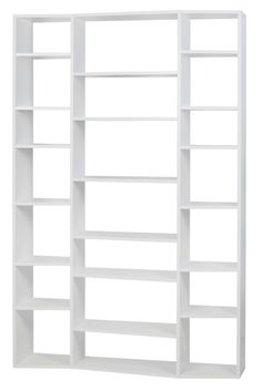 Valsa White 21 Shelf Bookcase, 9500.316579, Tema Home