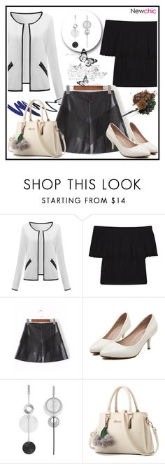 """""""Ruffled Top- Newchic Woman 5"""" by aazraa ❤ liked on Polyvore"""