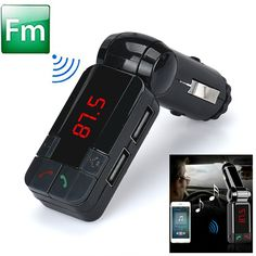 CARPRIE Dual USB Car Kit Charger Wireless Bluetooth Stereo MP3 Player bluetooth handsfree fm transmitter car kit char <3 This is an AliExpress affiliate pin.  Click the VISIT button to enter the AliExpress website
