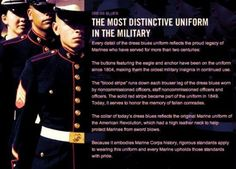 The Most Distinctive Uniform on the Military - USMC Dress Blues Usmc Quotes, Military Quotes, Military Love, Soldier Quotes, Once A Marine, Marine Mom, Military Girlfriend, Military Spouse, Military Families