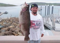 A NEW LAKE record rainbow trout was posted this past week by David Bixler of San Jose who caught his 13.72-pound rainbow while throwing a Kastmaster. The previous record was 13.14 pounds.