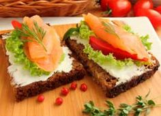 Smoked Salmon Sandwiches #recipe