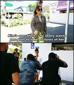 This is why Khloe is my favorite from all of them.