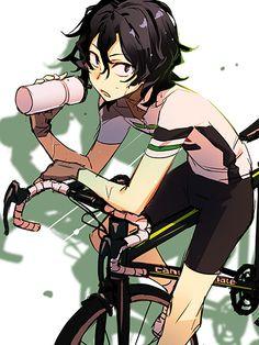 Yowamushi Pedal (Yowapeda) - Junta Teshima