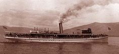 steam ships of lake tahoe | ... to grace the waters of lake tahoe was the steamer tahoe commissioned
