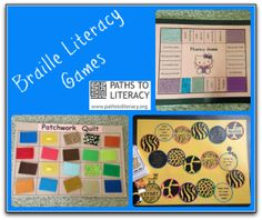 These #braille games are a great way to promote braille literacy with your students!